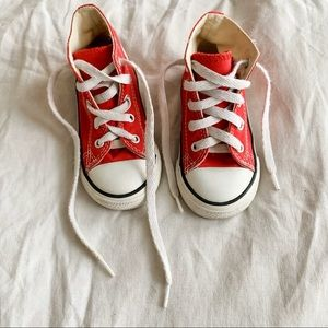 Converse Hightops Red Infant 7